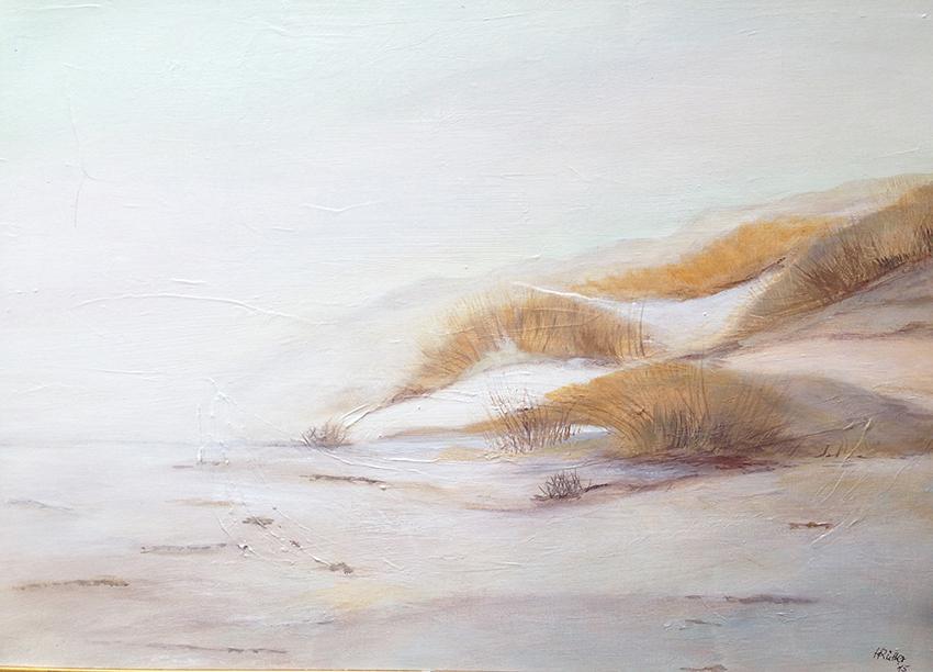Winter in den Dünen auf Sylt